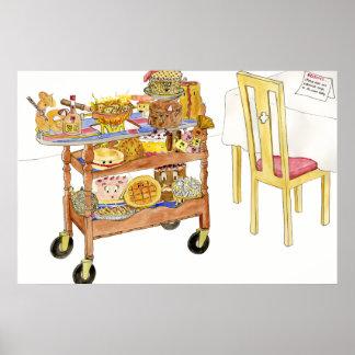 Pudding Trolley Diversity Print