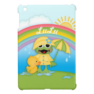 Puddle Jumping Frog Kid's iPad Case