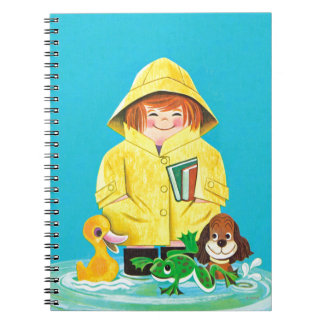 Puddles of Fun Notebook