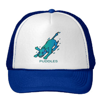 """Puddles"" the water dog hat"