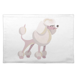 Pudel Hund poodle dog Placemat