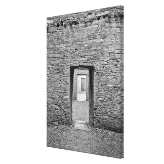Pueblo Bonita Doorway Canvas Print