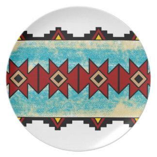 Pueblo Design Plate