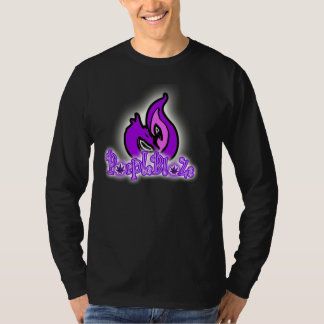 PueplwBlaZe flame fire dragon logo long sleeve T-Shirt