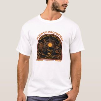 PUERTO ESCONDIDO MEXICAN SURFING T-Shirt