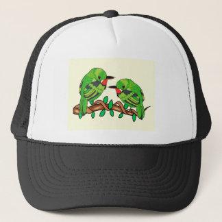 Puerto Rican bird love art Trucker Hat