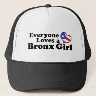 Puerto Rican Bronx Girl Trucker Hat