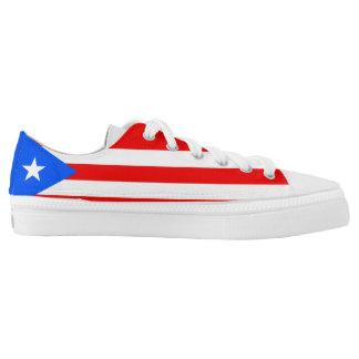 Puerto Rican Flag Low Tops