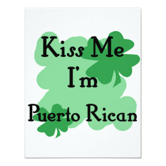 Puerto Rican Personalized Invitation