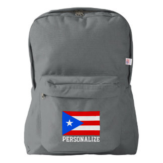 Puerto Rican pride flag of Puerto Rico custom Backpack