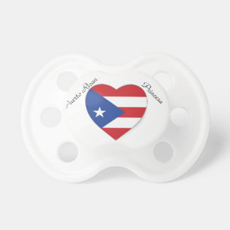 puerto rican pride heart paci dummy