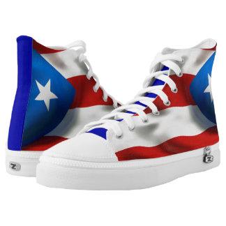 Puerto Rican Pride High Tops