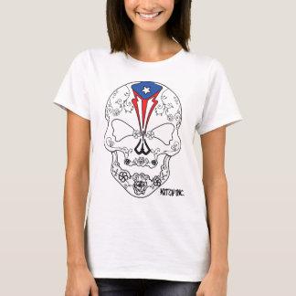 Puerto Rican Skull Candy T-Shirt