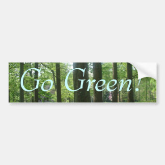 Puerto Rico 422, Go Green! Bumper Sticker