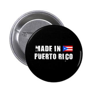 PUERTO RICO 6 CM ROUND BADGE
