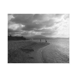Puerto Rico Beach scene Canvas Print