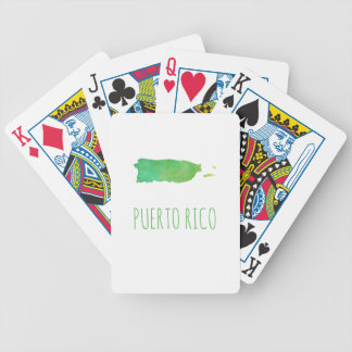 Puerto Rico Bicycle Playing Cards