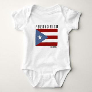 Puerto Rico Boricua Baby Bodysuit