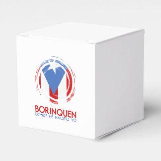 Puerto Rico Borinquen Favour Box