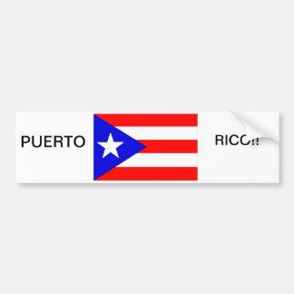 PUERTO RICO  BUMPER STICKER