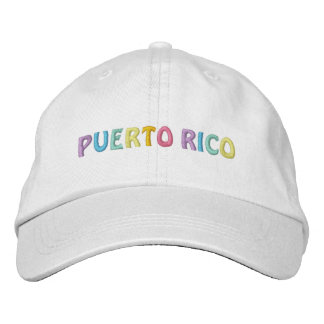 PUERTO RICO cap Embroidered Hats