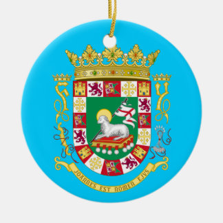 Puerto Rico* Christmas Ornament