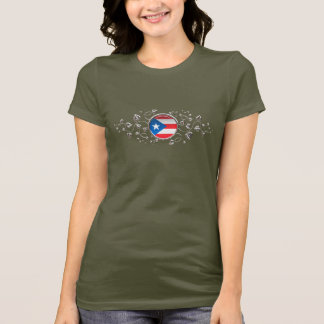 Puerto Rico Chromed Foliage T-Shirt