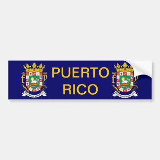 Puerto Rico Coat of Arms Bumper Sticker