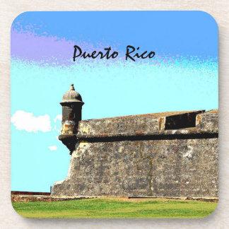 Puerto Rico Drink Coasters