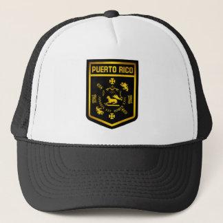 Puerto Rico Emblem Trucker Hat