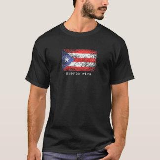 Puerto Rico Faded Flag T-Shirt