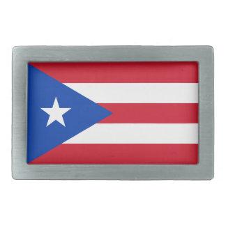 Puerto Rico Flag Belt Buckle