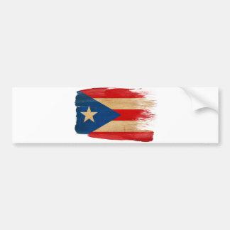 Puerto Rico Flag Bumper Sticker