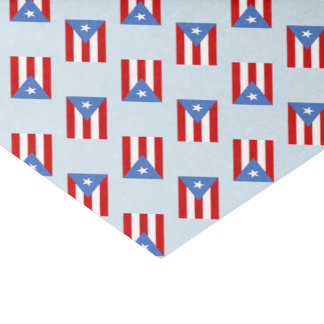 Puerto Rico Flag: Decoration Tissue Paper