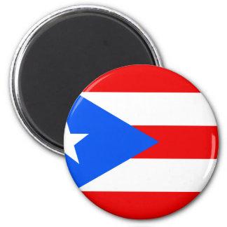 Puerto Rico Flag Magnet