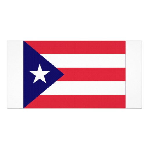 Puerto Rico Flag Photo Cards