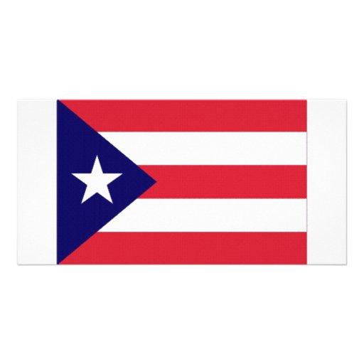 Puerto Rico Flag Photo Cards