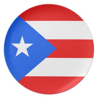 Puerto Rico Flag Plates