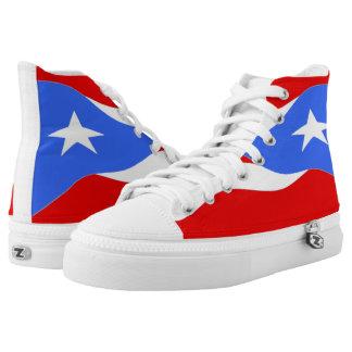 Puerto Rico Flag Shoe Printed Shoes