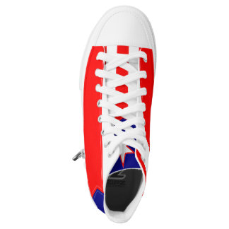 Puerto Rico Flag Shoes Printed Shoes