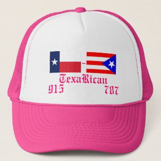 puerto_rico_flag, TexasFlag, TexaRican, 915    ... Trucker Hat