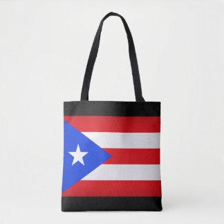Puerto Rico Flag Tote Bag