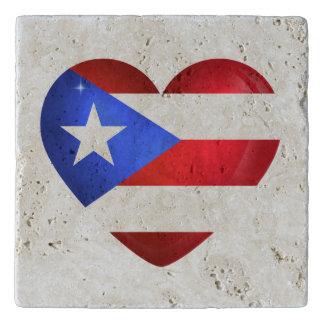 Puerto Rico Flag Trivet