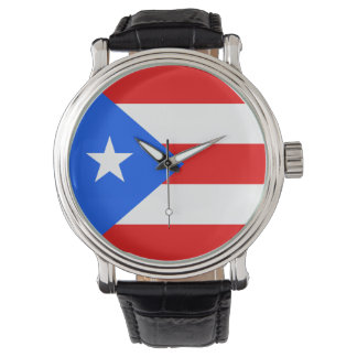 Puerto Rico Flag Watch