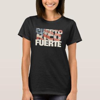 Puerto Rico Fuerte American Flag Puerto Rican T-Shirt