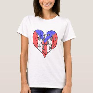 Puerto Rico Graffiti Heart T-Shirt
