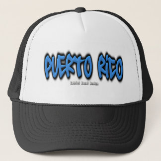 Puerto Rico Graffiti Trucker Hat