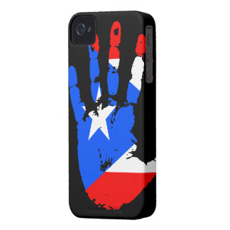 Puerto Rico Handprint iPhone 4 ID Case-Mate iPhone 4 Cover