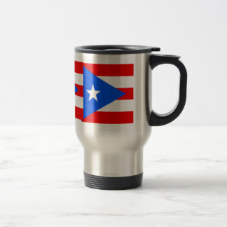 Puerto Rico High quality Flag Travel Mug