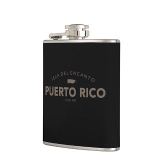 Puerto Rico Hip Flask